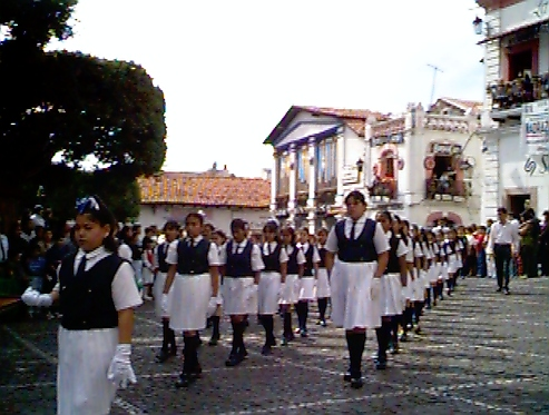 Black and White Marchers