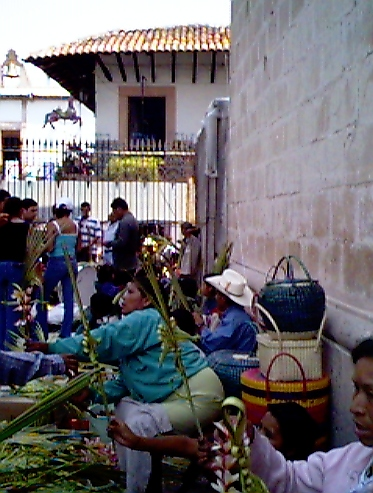 Palm Sunday Sellers